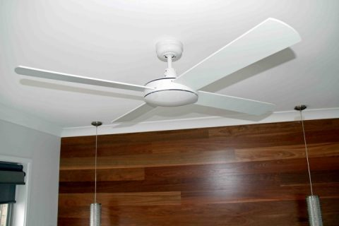 Remote control ceiling fan installed in Batemans Bay